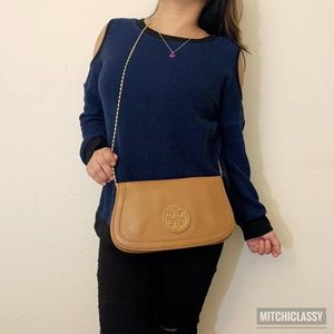 💖OFFERS??💖•Tory Burch• Brown Crossbody Bag